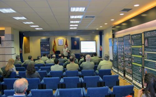 10/03/2015. Jornadas formativas para la guardería. Servicio Territorial de Medio Ambiente de Segovia.