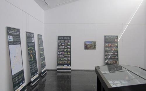 7/10/2015. Utilización en la Casa del Parque de Las Médulas, Carucedo, León.