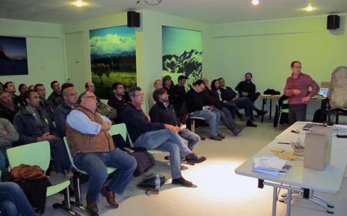 Jornada formativa realizada en Ávila.