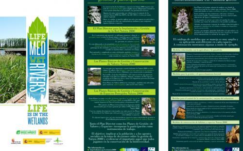 Exposición Red Natura 2000. Paneles 5 y 6.